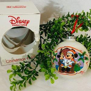 Disney vintage 89 Mickey mouse Christmas ornament